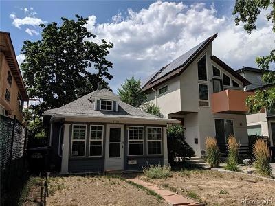 Denver Residential Lots & Land Active: 4133 Utica Street