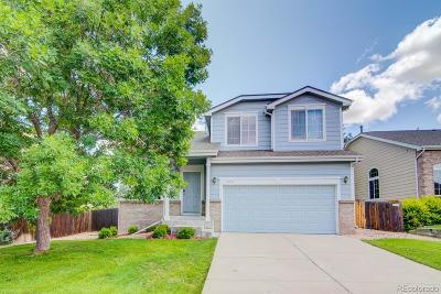 Aurora Single Family Home Under Contract: 4374 South Himalaya Court