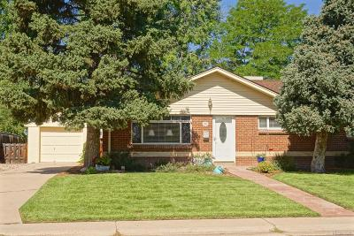 Littleton Single Family Home Active: 5765 South Fox Street