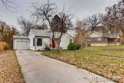 Single Family Home Under Contract: 2644 South Gaylord Street