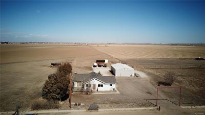 Keenesburg Single Family Home Under Contract: 34499 County Road 8