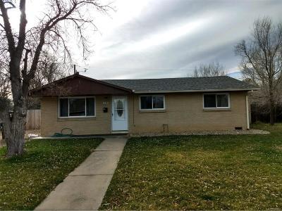 Boulder Single Family Home Active: 3190 East Euclid Avenue