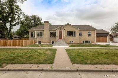Park Hill Single Family Home Active: 2506 Glencoe Street