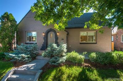 Denver Single Family Home Active: 3020 Bellaire Street