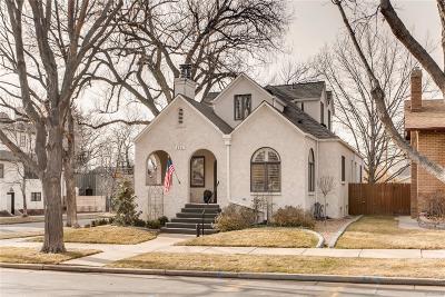Denver Single Family Home Active: 595 South Race Street
