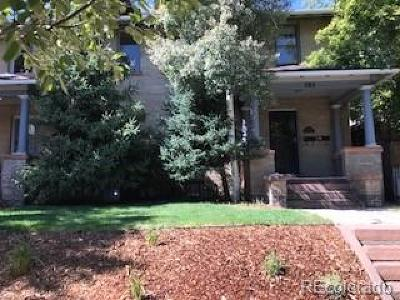 Denver Condo/Townhouse Under Contract: 777 North Downing Street