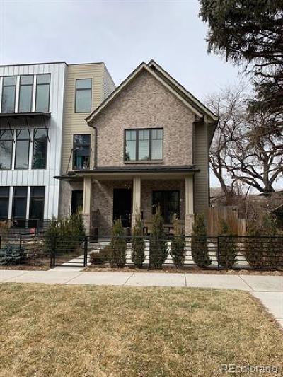Cherry Creek Condo/Townhouse Active: 139 Jackson Street
