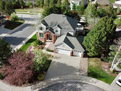 Castle Pines Single Family Home Active: 327 Ingleton Court
