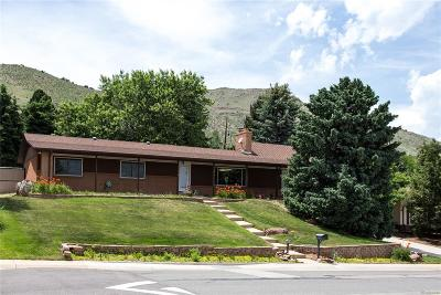Golden Single Family Home Under Contract: 2130 Lookout Mountain Road