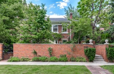 Denver Single Family Home Active: 2046 Birch Street