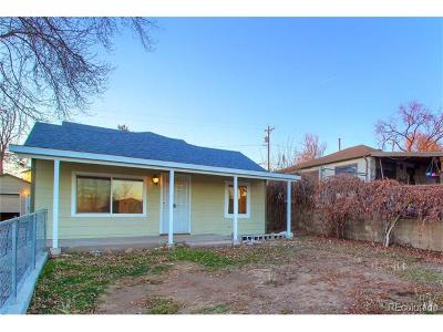 Englewood Single Family Home Active: 3345 South Canosa Court