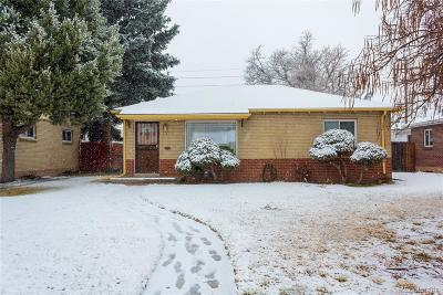 Denver Single Family Home Active: 3385 Olive Street