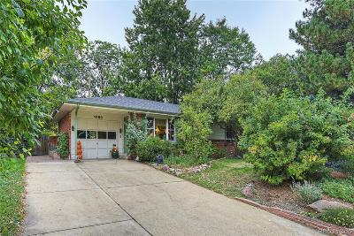 Boulder Single Family Home Under Contract: 1050 Miami Way