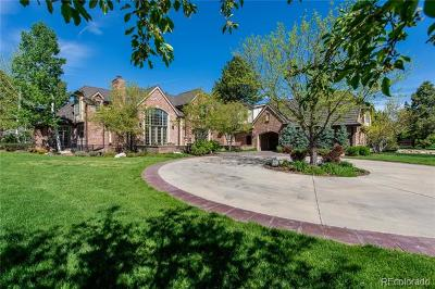 Cherry Hills Village CO Single Family Home Active: $5,995,000