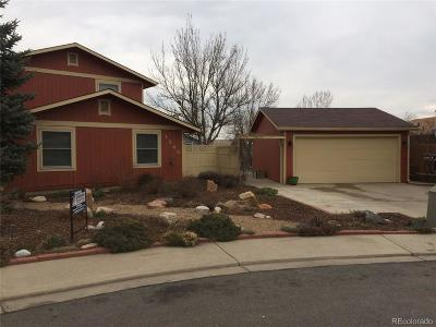 Longmont Single Family Home Under Contract: 1246 Kinnikinnick Court