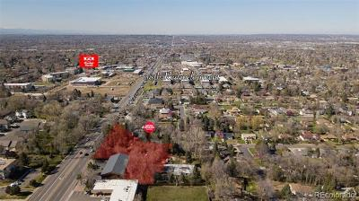 Wheat Ridge Residential Lots & Land Active: 7580 West 33rd Avenue