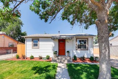 Commerce City Single Family Home Active: 7765 Oneida Street