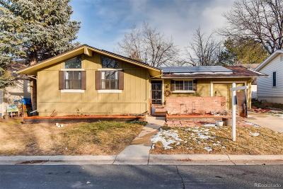 Broomfield Single Family Home Under Contract: 112 Pinon Street