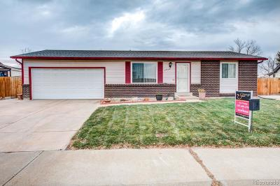 Thornton Single Family Home Under Contract: 3839 East 113th Avenue