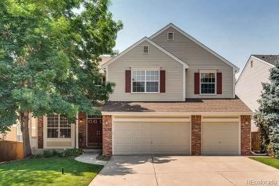 Highlands Ranch Single Family Home Under Contract: 1672 Spring Water Place
