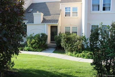 Aurora Condo/Townhouse Under Contract: 13220 East Linvale Place