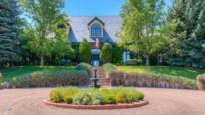Longmont Single Family Home Active: 5860 Boulder Hills Drive