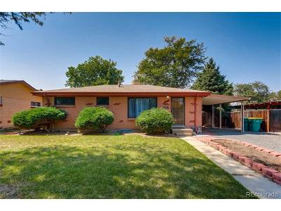Aurora, Denver Single Family Home Under Contract: 2429 Billings Street