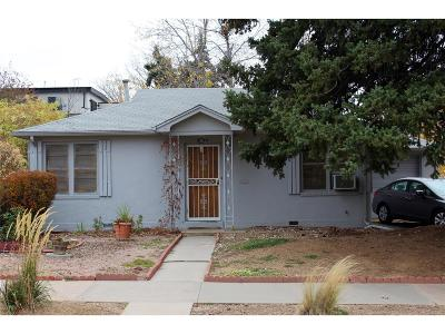 Denver Single Family Home Under Contract: 2530 Meade Street