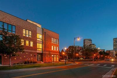 Denver Condo/Townhouse Active: 2200 Tremont Place #1