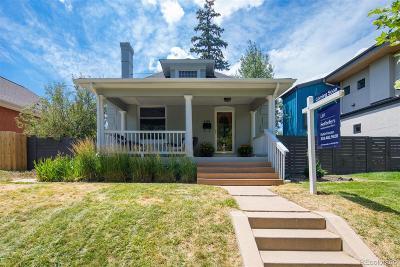 Denver Single Family Home Active: 3275 Stuart Street