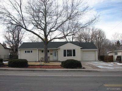 Lakewood Single Family Home Under Contract: 449 South Harlan Street