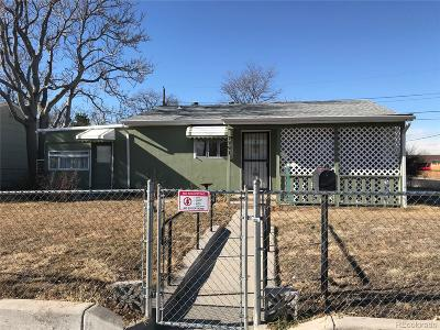 Commerce City Single Family Home Under Contract: 7791 Newport Street