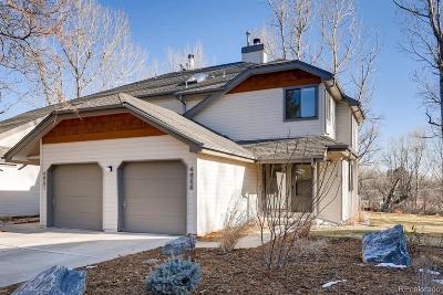 Boulder Condo/Townhouse Under Contract: 4655 Dapple Lane
