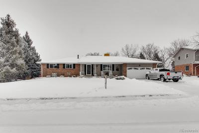 Littleton Single Family Home Under Contract: 7024 South Kendall Court