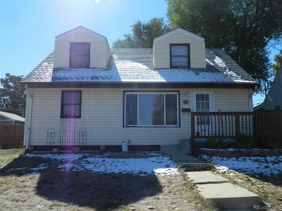 Denver Single Family Home Active: 1370 West Gill Place