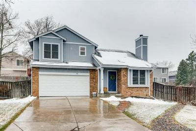 Highlands Ranch Single Family Home Under Contract: 696 Myrtlewood Court