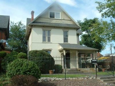 Denver Single Family Home Active: 2719 West 32 Avenue