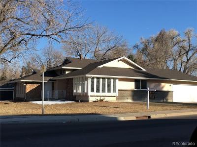 Denver Single Family Home Active: 9700 East Ohio Avenue