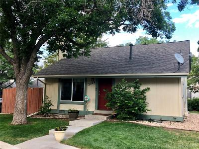 Aurora Single Family Home Active: 3724 South Danube Circle