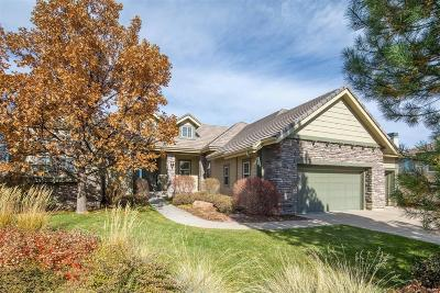 Castle Rock Single Family Home Under Contract: 6269 Shavano Peak Place