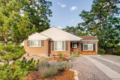 Denver Single Family Home Active: 3090 Jasmine Street