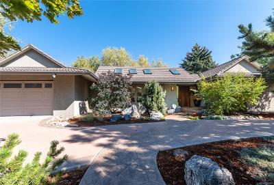 Boulder CO Single Family Home Active: $1,495,000