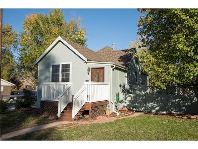Denver CO Single Family Home Active: $320,000