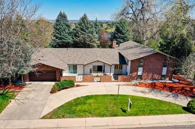 Denver Single Family Home Active: 3928 South Ames Way