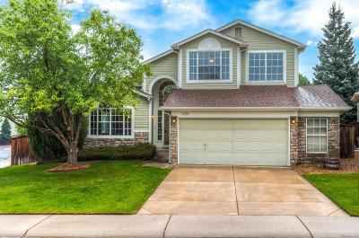 Highlands Ranch Single Family Home Under Contract: 10006 White Oak Place