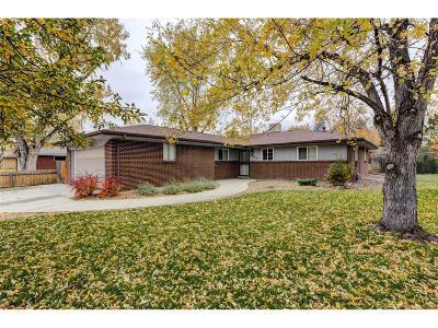 Wheat Ridge Single Family Home Under Contract: 3195 Ward Court