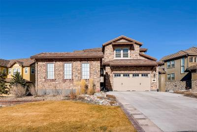 Highlands Ranch Single Family Home Under Contract: 10807 Timberdash Avenue