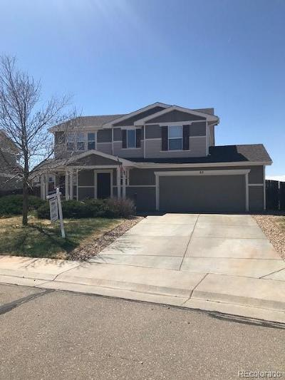 Lochbuie Single Family Home Under Contract: 85 Shenandoah Way