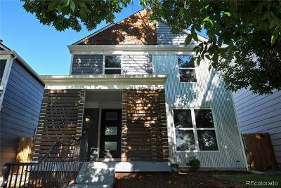 Denver Single Family Home Active: 2875 Osceola Street