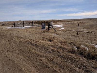Deer Trail CO Residential Lots & Land Active: $120,000